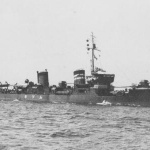 IJN Mutsuki-class destroyer in 1930