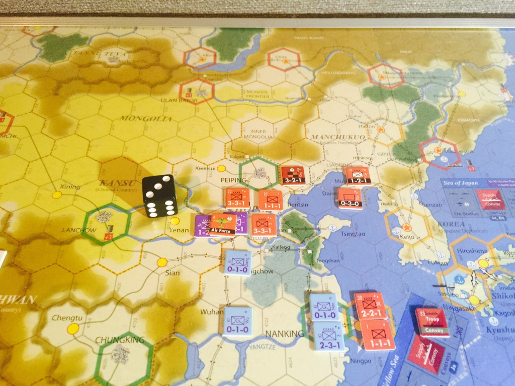 Attack on Taiyuan support by Air Force
