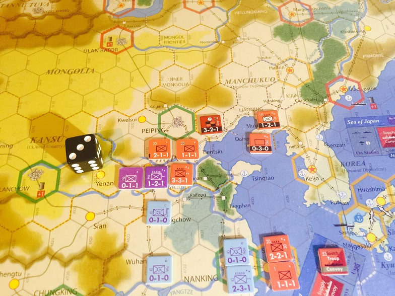Result after turn 2 axis combat phase.