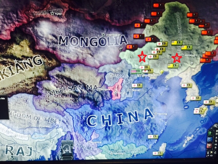 HoI4 Geopolitical analysis Asia and Empire of  Japan.