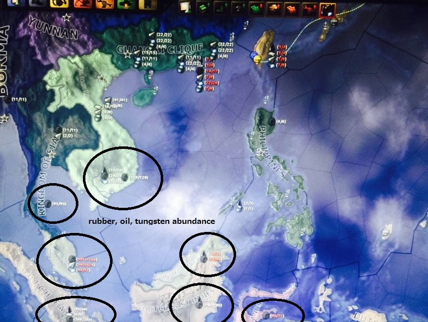 Southeast Asian resources in HoI4