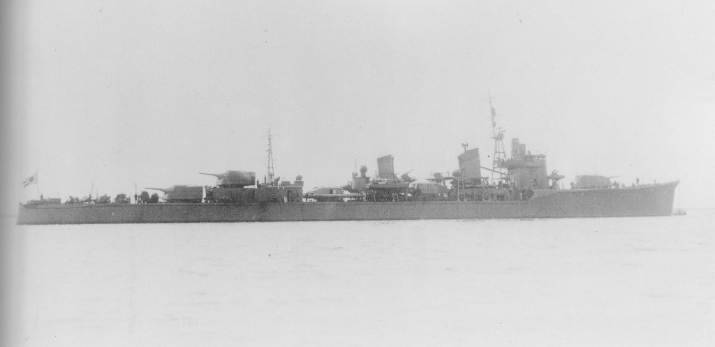IJN Asashimo destroyer