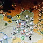 Army Group South in danger in Stalingrad Feb. 1943. Case Blue scenario Strategic Command WW2