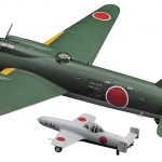 Mitsubishi bomber Betty mode kit 1/72 scale