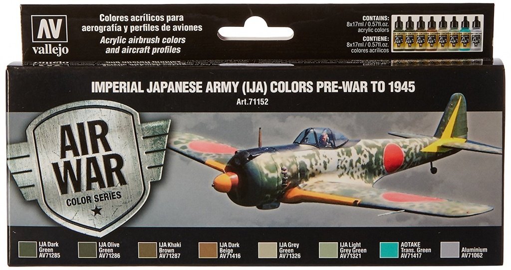 Imperial Japanese Army painting colors for aircrafts
