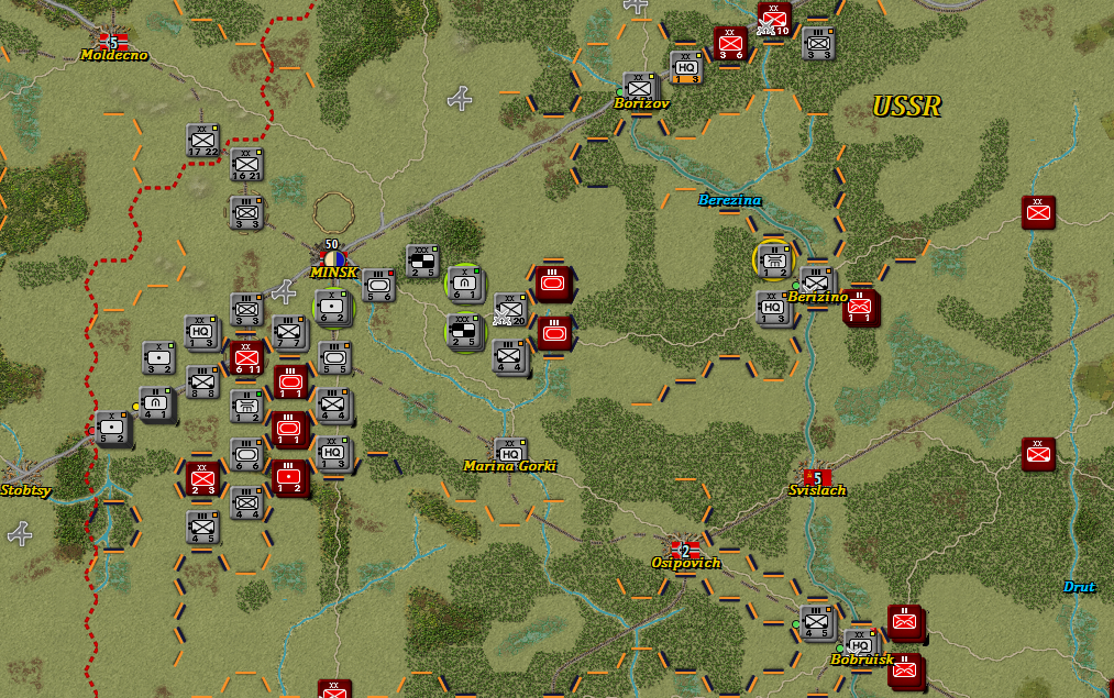 Situation after German Turn 12