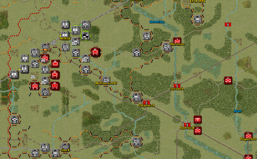 Situation after Turn 11 Germany