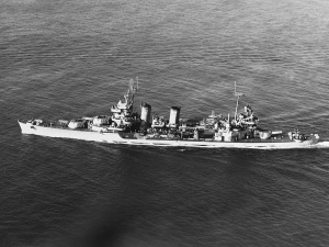 The USS Minneapolis (CA-36)  on 9 November 1943.